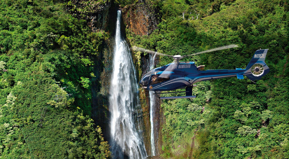 Heli-waterfalls Helicopter
