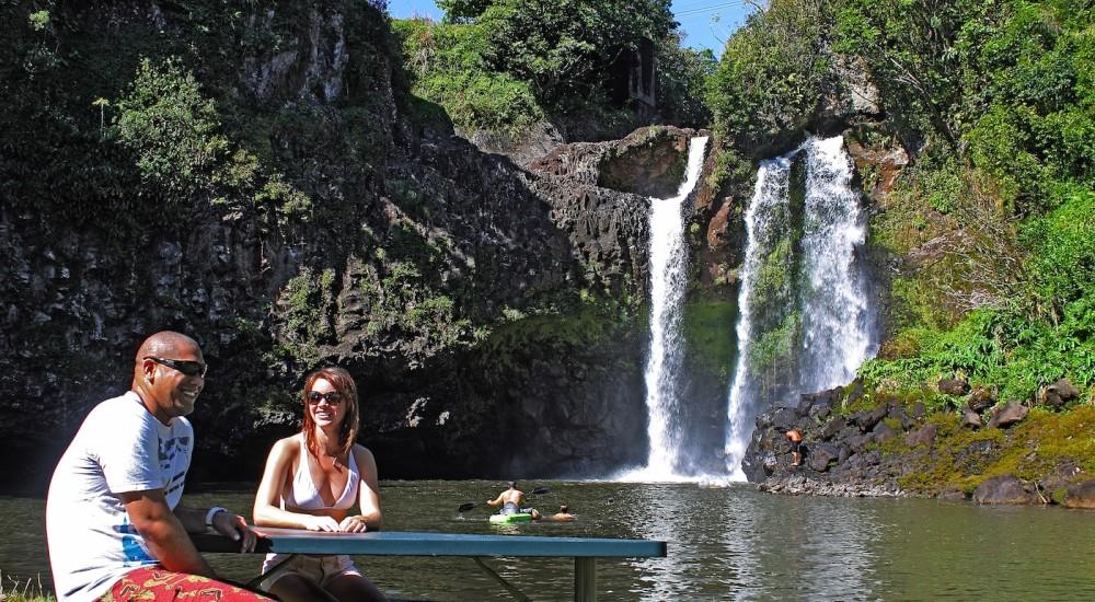 Kawainui Stream Falls