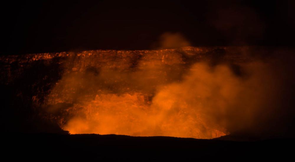 TwilightVolcano VolcanoNight