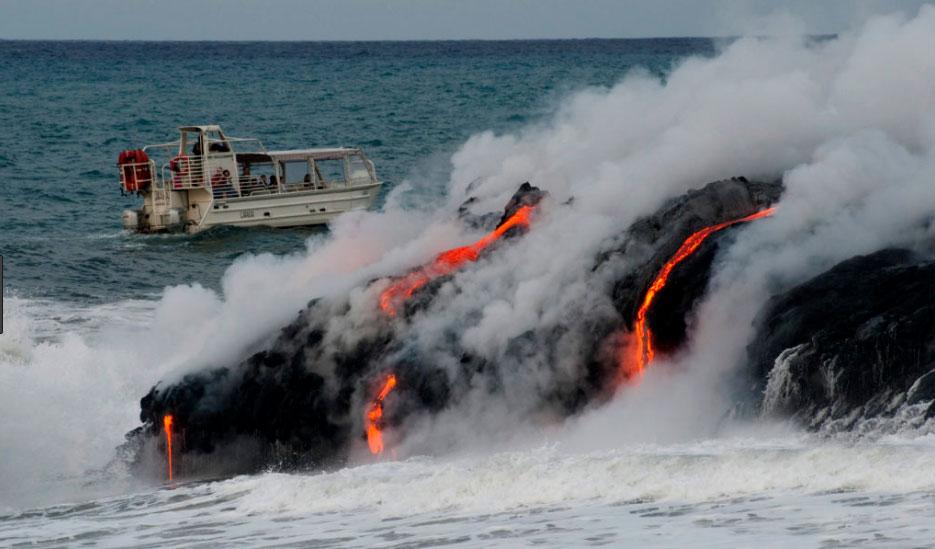 Lava Boat